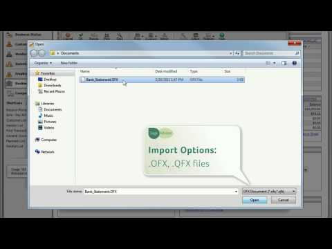 Importing Your Bank Statements in Sage 50 Accounting