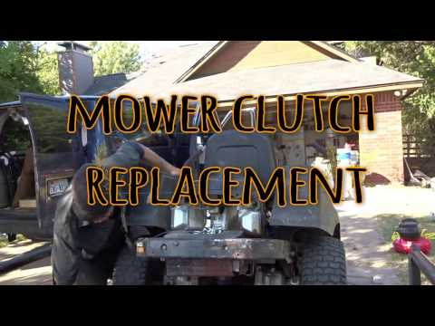 CUB CADET ZTR Clutch Replacement
