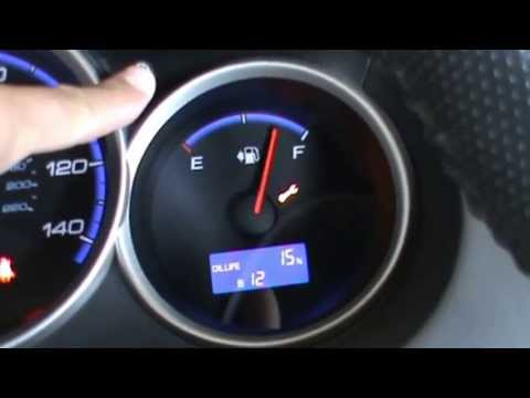 2012 Honda Fit - Oil Life Light Reset - How to - Check
