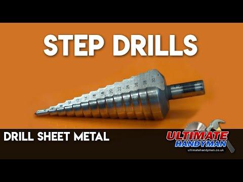 Step drills | drill sheet metal