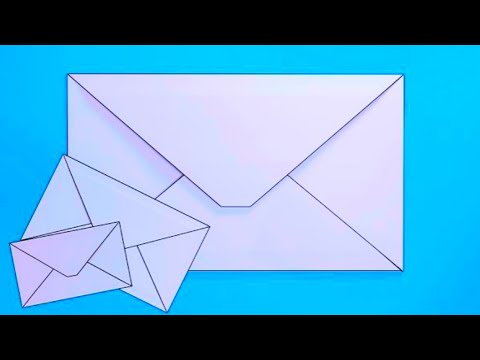 How to make an Envelope Greeting card cover from paper,Lifafa kaise banaye, paper Envelope making