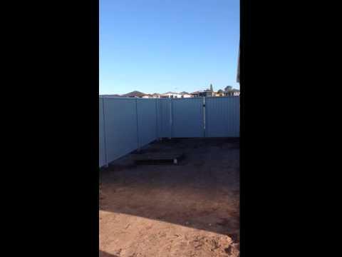 Heal Steel Fence 3   Bluescope Steel   Colorbond® Steel