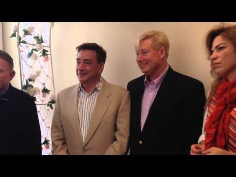 Same Sex Wedding Ceremony: James Baker and Mauricio Gerson