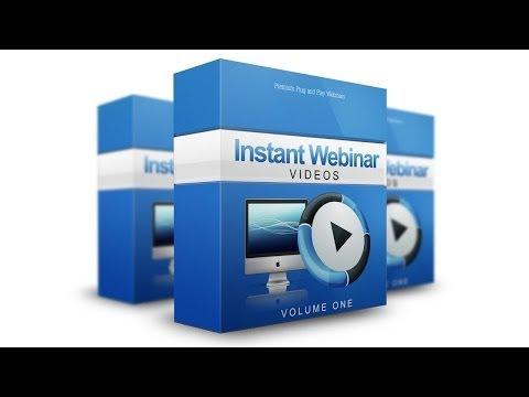 Instant Webinar Videos | Instant Webinar Videos Review James Carter
