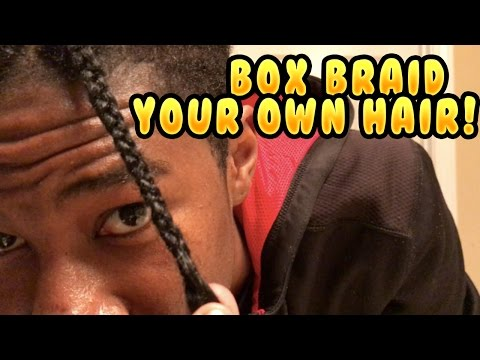 How To Box Braid Your Own Natural Hair!