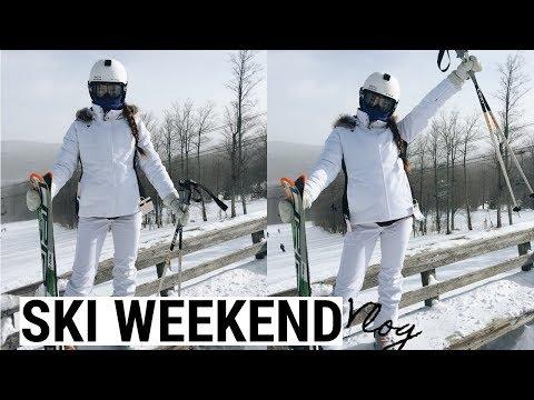 Ski Weekend Trip VLOG | Kaela Kilfoil