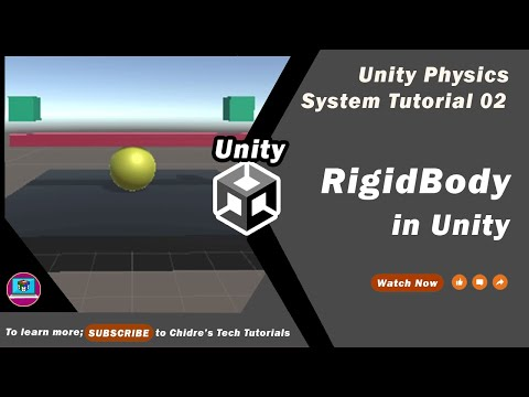 Unity Physics System Essentials - 02 - Rigidbody component all properties explained