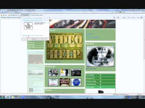 Internet Explorer 8 (Part 1)