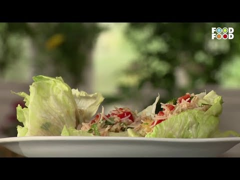Pineapple & Rice In Lettuce Wraps | Super Foods | Chef Sanjeev Kapoor | FoodFood