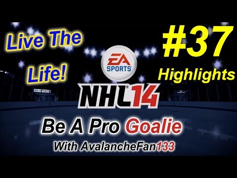 NHL 14 - Be A Pro - Goalie - Episode 37: Game 10 of My 5th Season *Highlights*