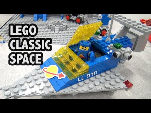 LEGO Classic Space Sets Supersized | Bricks Cascade 2018