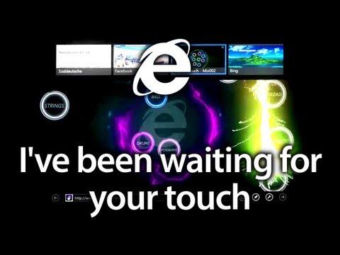 Internet Explorer 10 - Werbung - Deutsch (Your Touch - Blake Lewis | Lange Version in HD)