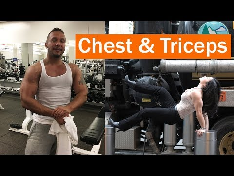 Chest and Triceps Workout Fueled by BPI Sports