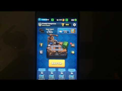 How to get your lost account back in clash royale