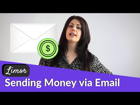 HOW TO SEND MONEY VIA EMAIL  | Financially Fabulous