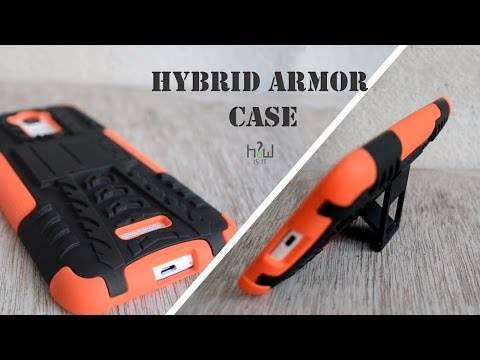 Hybrid armor mobile case Unboxing and Review | How iS iT