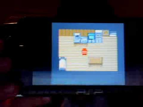 PokemonGold GamePlay On PSP