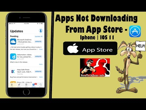 Apps Not Downloading from APPSTORE On IPHONE   6 Methods To Fix In IOS11