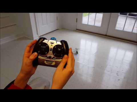 How to take off and land your 3 channel RC helicopter!