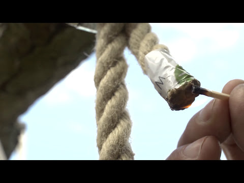 How to: Hang a ROPE SWING - video