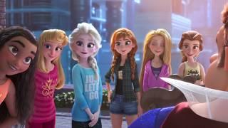 Download Disney Princesses save Wreck-It-Ralph Video