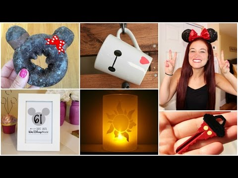 CHEAP AND EASY DISNEY DIY CRAFT IDEAS  YOU HAVE TO TRY#1 | PINTEREST INSPIRED