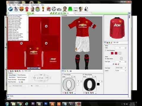 FIFA 14-How  to import new kit,scoreboard & squad