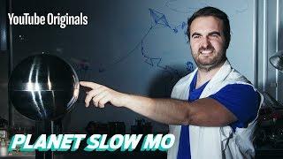 Van de Graaff Generator in Slow Motion