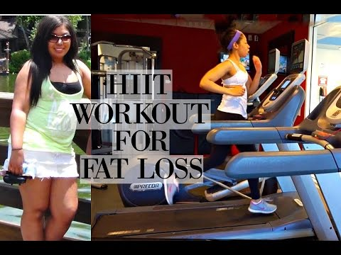 HIIT TREADMILL WORKOUT FOR FAT LOSS | How I Lost 88lbs of Fat | WEIGHT LOSS TIPS & MOTIVATION