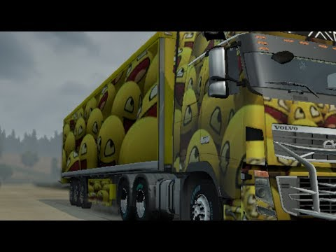How to make a trailer skin in ETS 2