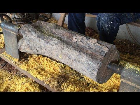 Amazing Art Woodturning Of Carpenter - Craftsmen Skill Magic Never Seen, Wood Work