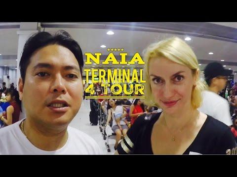 NAIA Terminal 4 Manila Domestic Passenger Terminal Tour 2016 by HourPhilippines.com