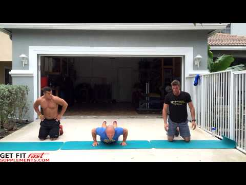 Chiseled Chest Workout! Body weight with Get Fit Fast & Team Swoll
