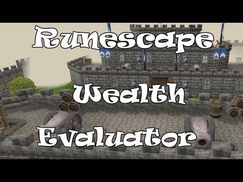 Runescape 3   Wealth Evaluator