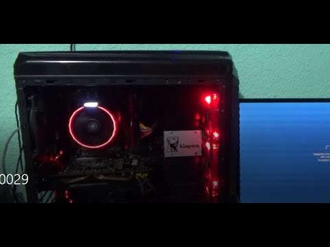 cambia la posición del disipador ryzen wraith cooler