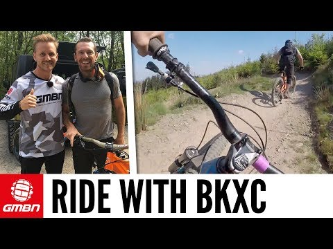 BKXC Joins Blake On The Trails | GMBN Ride Along