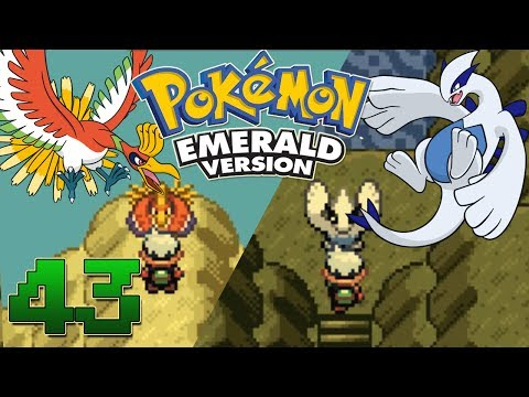 Let's Play Pokemon Emerald Part 43 - Ho-Oh & Lugia Event Navel Rock