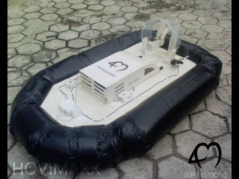 Hovimaxx--- Paper Hovercraft  (high school project)
