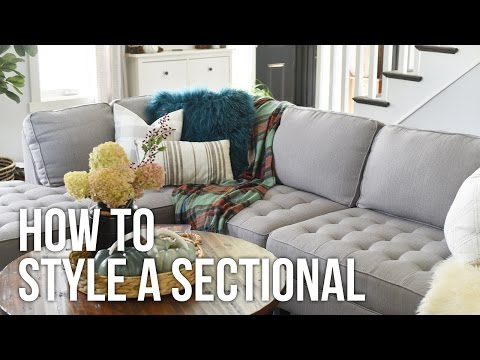Tip Tuesday: How to Style a Sectional