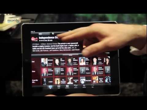 Virgin TV Anywhere iPad TiVo App walkthrough