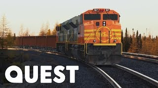 The Mega Freight Train Is On The Move!   Rise Of The Machines