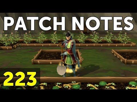 RuneScape Patch Notes #223 - 11th June 2018