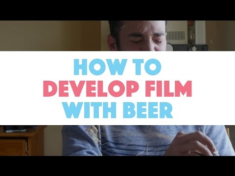 Developing Black and White Film With Beer