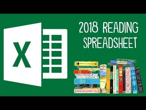 2018 Reading Spreadsheet (With Download)