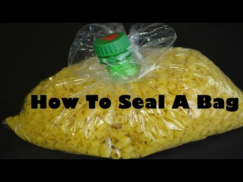 Creative Ways to Reuse Plastic Bottles (5) :How To Seal A Bag