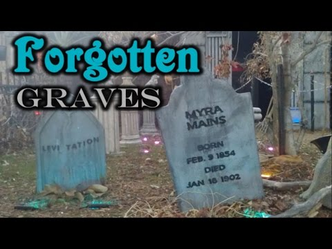 Foam Tombstone Decorations - Halloween Graveyard Display