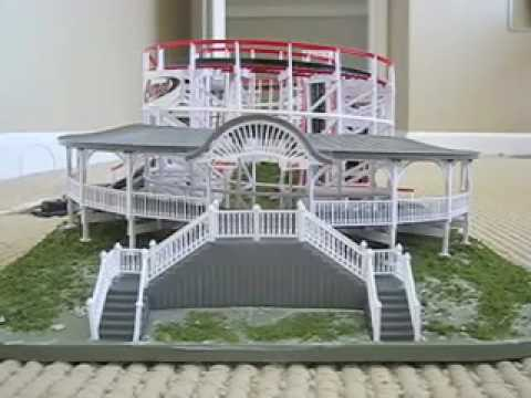 HO scale Comet Roller coaster Model by Coaster dynamix