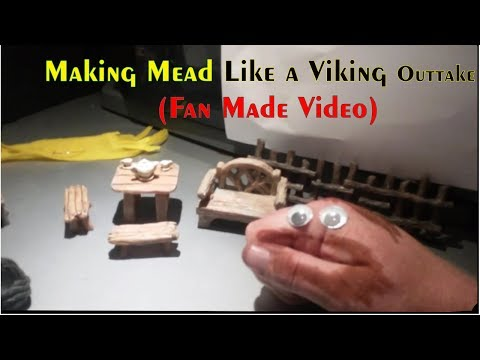 Making Mead Like a Viking Outtake (Fan Made Video)