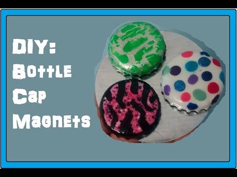 DIY: Bottle Cap Magnets