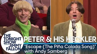 Download Peter and His Heckler - ″Escape (The Piña Colada Song)″ with Andy Samberg Video
